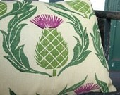 Scottish Thistle Pillow Case