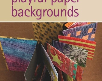 Playful Paper Background DVD