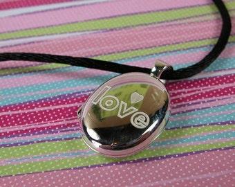 Sterling Silver Oval Locket - Love My Locket