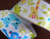 Ribbon - Jungle Friends Polyester 1 1/2 inches wide Ribbon   - 2 yards
