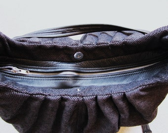 Additional upgrade for a leather zipper top closure