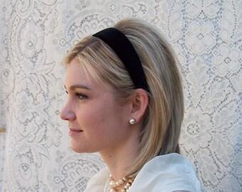 comfortable velvet headband