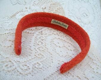 Orange  Winter Hairband  Last One