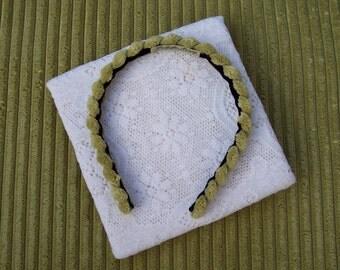 Chartreuse Headband Narrow