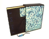 Leather Travel Journal No. 8, Floral Sea
