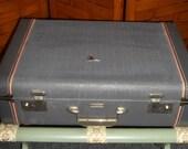 Beautiful Flite Weight Grey Luggage with Key