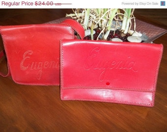 Oh my Eugenia Great red purses