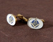 Mason Cufflinks - Reserved Listing for GenuineKnits