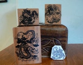 Rubber Stamps - chinese dragon theme