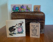 Rubber Stamps - 4 Easter Stamps
