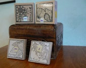 Rubber Stamps - Winter, Spring Summer and Fall theme stamps