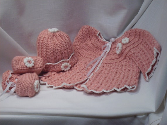 Three-piece baby layette