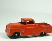 1960s Tootsie Toy Ford Truck Retro Orange