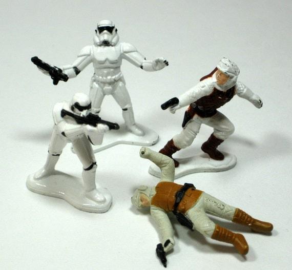 Star Wars Toys 1980s : Star wars metal figures s