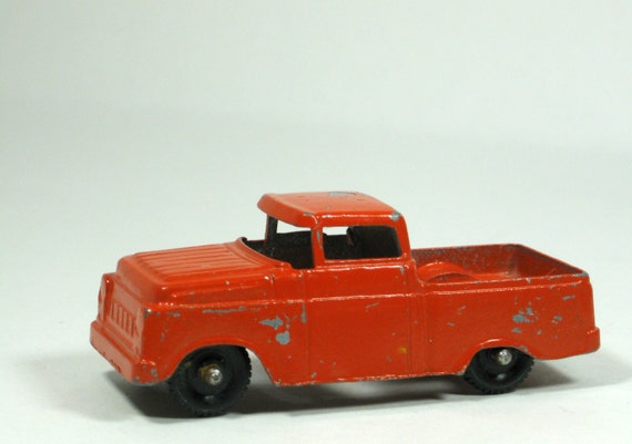 1960s Tootsie Toy Ford Truck Retro Orange