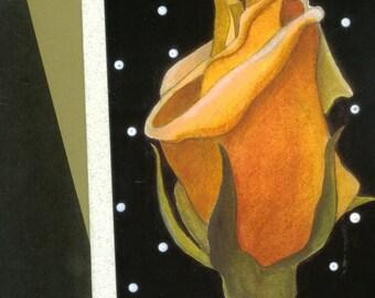 Friendship Rose Card