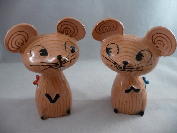 Cute And Quirky Holt Howard Merry Mouse Mice By