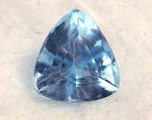 13 ct ... Faceted Blue Topaz Gemstone ... 15 X 13 X 10  mm
