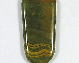 41 ct ... Kabamby Ocean Jasper Cabochon ... 41 X 21 MM AND IS 5 mm