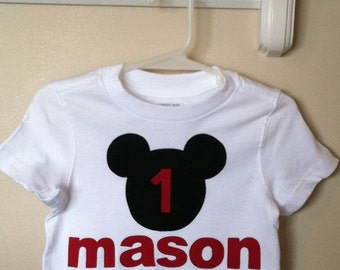 Boys mouse Inspired Shirt