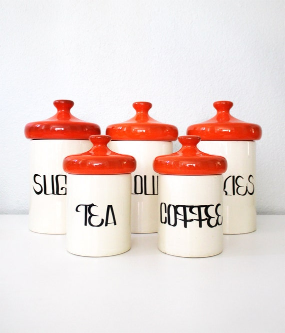 Vintage Kitchen Jars