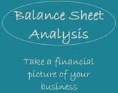 Balance Sheet Analysis - Financial picture of your shop