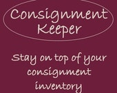 Consignment Keeper - Inventory tracker, Sales percentage calculator