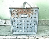 Vintage Lots of Dots Locker Basket
