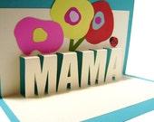 Mama Pop Up Card