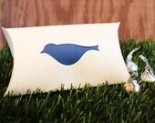 Bird Favor Pillow Boxes Set of 25 Wedding