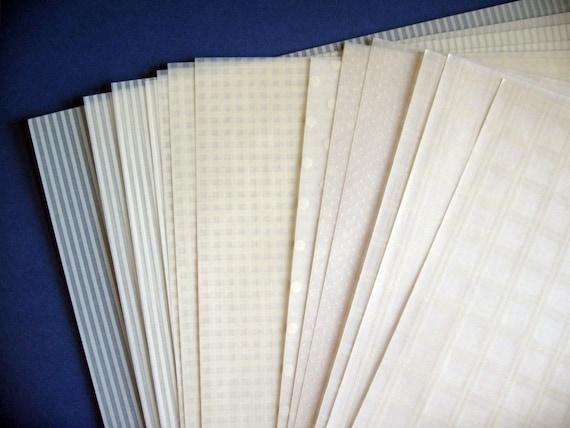 vellum paper patterned destash