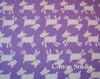 Kawaii Goat Farm Animal Japanese Fabric Lavender 5 Yards