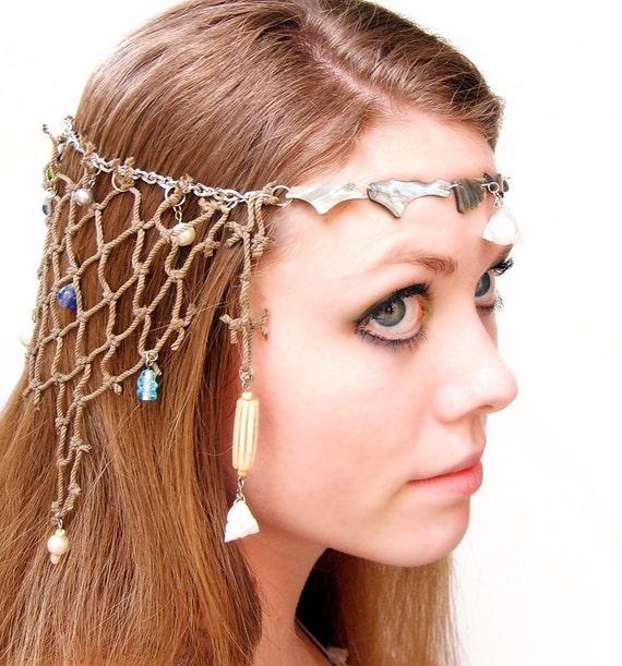 Caught at Sea - Mermaid Headdress