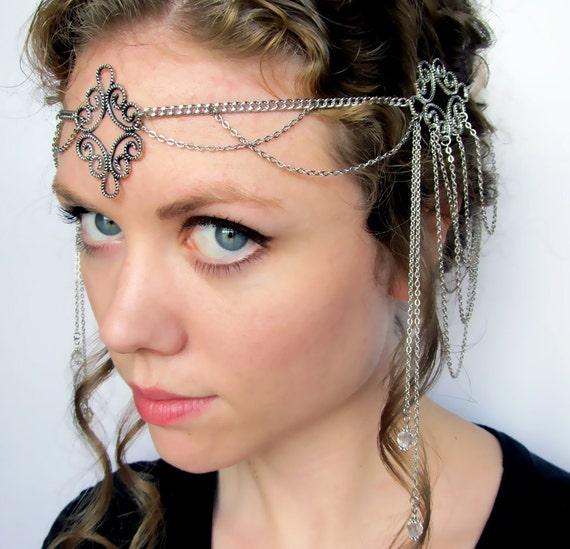 Arwen Headdress Elvish Wedding Circlet