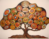 """Polymer Clay """"The Shielding Tree"""""""