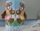 Bears Cover for Baby Wipes Container