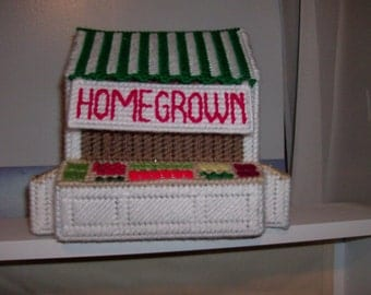 Homegrown Tissue Box Cover