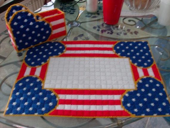 Patriotic Table Set