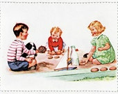 Dick and Jane - See My Cookie Retro Card