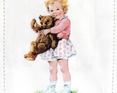 Dick and Jane - Tim and Baby Sally Retro Card