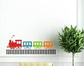 Chu Chu Train Wall Vinyl Decals Art Graphics Stickers