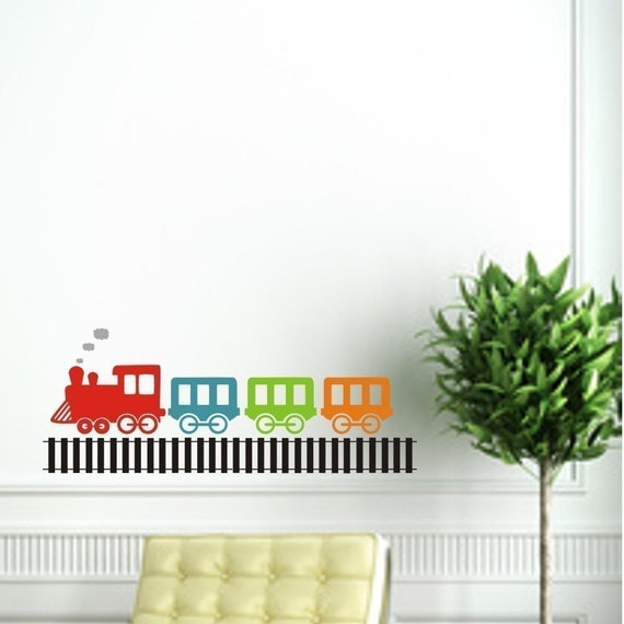 Chu Chu Train Wall Vinyl Decals Art Graphics Stickers