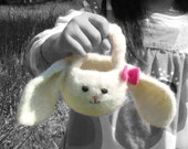 Mopsy the Bunny Felted Basket