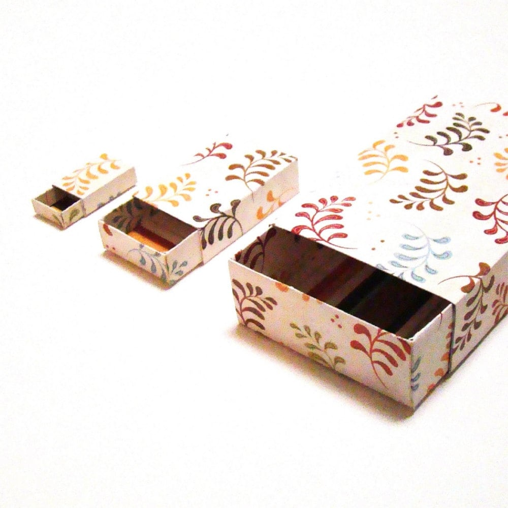 Matchbox pattern diy matchbox printable box template 3 for Blank matchboxes for crafts