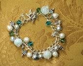 Charm Bracelet Seashell Charm Bracelet