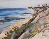 San Elijo Beach painting for Jayci