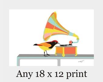 "Any Print As A 12x18""-Office Decor,Minimalist Art,modern art,nursery art,kitchen art,Poster Gift Home Decor Birthday gift for her Wall Decor"