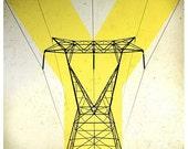 High Wire - Fine Art Photograph 8x8