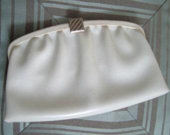 White Vintage Clutch