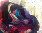 Huge lot of assorted lace, 38 yards